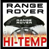 RANGE ROVER HIGH TEMPERATURE BRAKE CALIPER DECAL SET